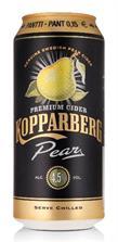 [kuva: Kopparberg Pear Cider tölkki(© Alko)]