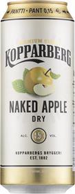 [kuva: Kopparberg Naked Apple Dry  tölkki(© Alko)]