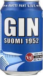 [kuva: Suomi 1952 Gin Long Drink(© Alko)]