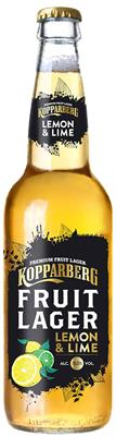 [kuva: Kopparberg Fruit Lager Lemon & Lime(© Alko)]