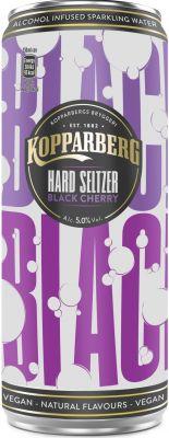 [kuva: Kopparberg Hard Seltzer Black Cherry tölkki(© Alko)]