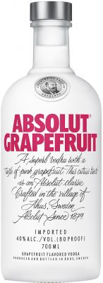 [kuva: Absolut Vodka Grapefruit(© Alko)]