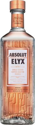 [kuva: Absolut Elyx Single Estate Copper Crafted Vodka(© Alko)]