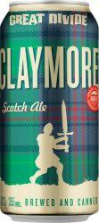 [kuva: Great Divide Claymore Scotch Ale tölkki]