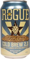 [kuva: Rogue Cold Brew 2.0 Coffee Blonde Ale tölkki]