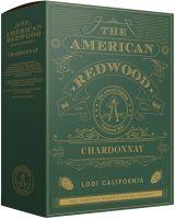 [kuva: American Redwood Chardonnay 2019 hanapakkaus]