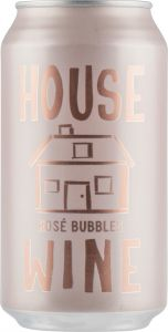 [kuva: House Wine Rose Bubbles tölkki(© Alko)]