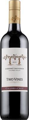 [kuva: Columbia Crest Two Vines Cabernet Sauvignon 2013(© Alko)]