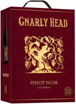 [kuva: Gnarly Head Pinot Noir 2019 hanapakkaus(© Alko)]