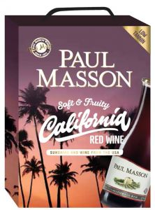[kuva: Paul Masson California Red hanapakkaus(© Alko)]
