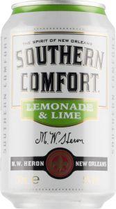 [kuva: Southern Comfort Lemonade & Lime tölkki(© Alko)]