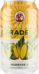 [kuva: New Belgium Citradelic tölkki(© Alko)]