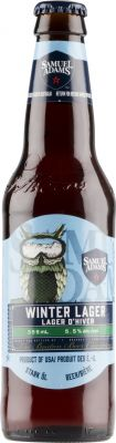 [kuva: Samuel Adams Winter Lager(© Alko)]