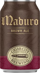 [kuva: Cigar City Maduro Brown Ale tölkki(© Alko)]