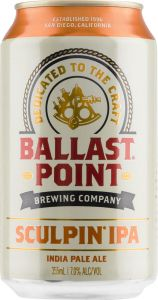 [kuva: Ballast Point Sculpin IPA tölkki(© Alko)]