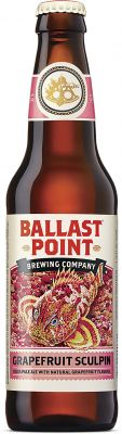 [kuva: Ballast Point Grapefruit Sculpin IPA(© Alko)]