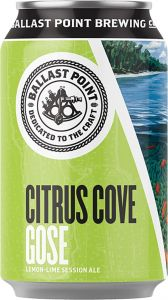 [kuva: Ballast Point Citrus Cove Gose tölkki(© Alko)]