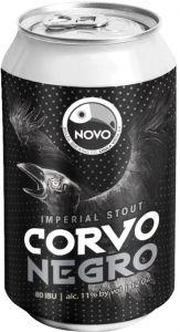 [kuva: Novo Brazil Corvo Negro Imperial Stout tölkki(© Alko)]