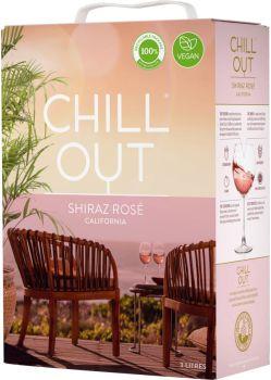 [kuva: Chill Out Shiraz Rosé 2019 hanapakkaus(© Alko)]