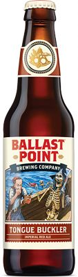 [kuva: Ballast Point Tongue Buckler Imperial Red Ale(© Alko)]