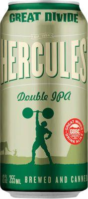 [kuva: Great Divide Hercules Double IPA tölkki(© Alko)]