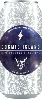 [kuva: Stone Cosmic Island New England Style IPA tölkki(© Alko)]