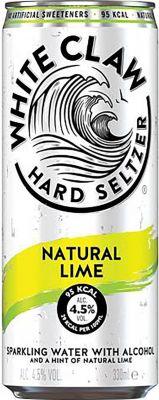 [kuva: White Claw Hard Seltzer Lime tölkki(© Alko)]