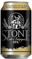 [kuva: Stone Cali-Belgique IPA  tölkki(© Alko)]