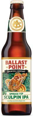[kuva: Ballast Point Spruce Tip Sculpin IPA(© Alko)]