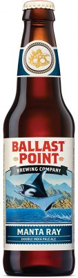 [kuva: Ballast Point Manta Ray Double IPA(© Alko)]