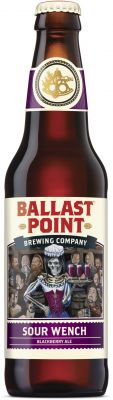 [kuva: Ballast Point Sour Wench Blackberry Ale(© Alko)]