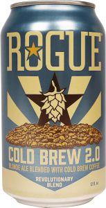 [kuva: Rogue Cold Brew 2.0 Coffee Blonde Ale tölkki(© Alko)]
