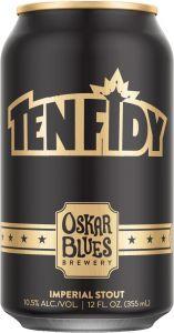 [kuva: Oskar Blues Ten Fidy Imperial Stout tölkki(© Alko)]