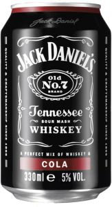 [kuva: Jack Daniel's Cola tölkki(© Alko)]
