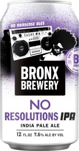 [kuva: Bronx No Resolutions IPA tölkki(© Alko)]
