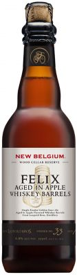 [kuva: New Belgium Felix Aged in Apple Whiskey Barrels(© Alko)]