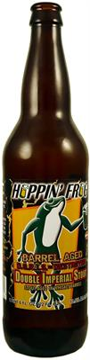 [kuva: Hoppin' Frog D.O.R.I.S. the Destroyer Double Imperial Stout(© Alko)]