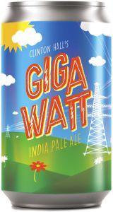 [kuva: Bronx Clinton Hall's Gigawatt IPA tölkki(© Alko)]