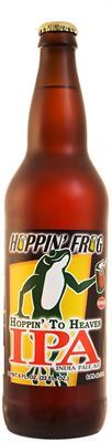 [kuva: Hoppin' Frog Hoppin' to Heaven IPA(© Alko)]