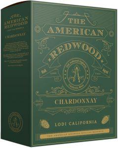 [kuva: American Redwood Chardonnay 2019 hanapakkaus(© Alko)]