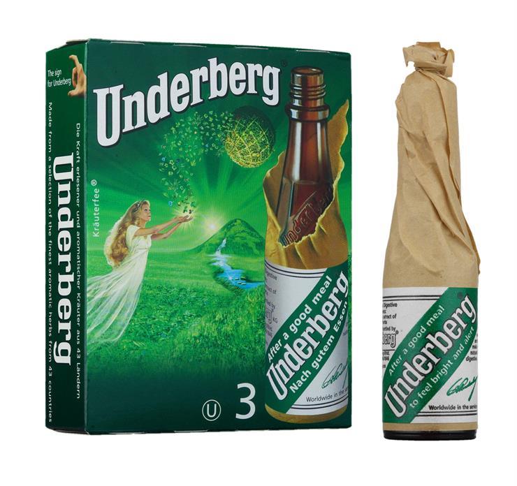 Underberg 3-pack (0.06 l) - maha- ja maustekatkerot - Saksa - 2394 - Viinikartta.fi