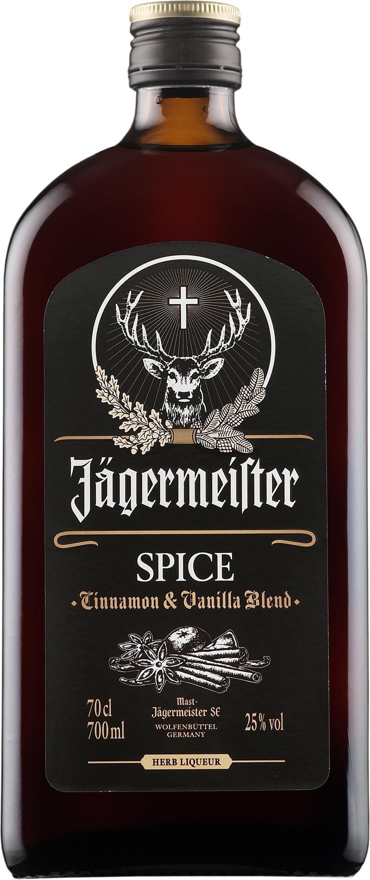Jägermeister Spice (0.7 l) - mausteliköörit - Saksa - 115837 - Viinikartta.fi