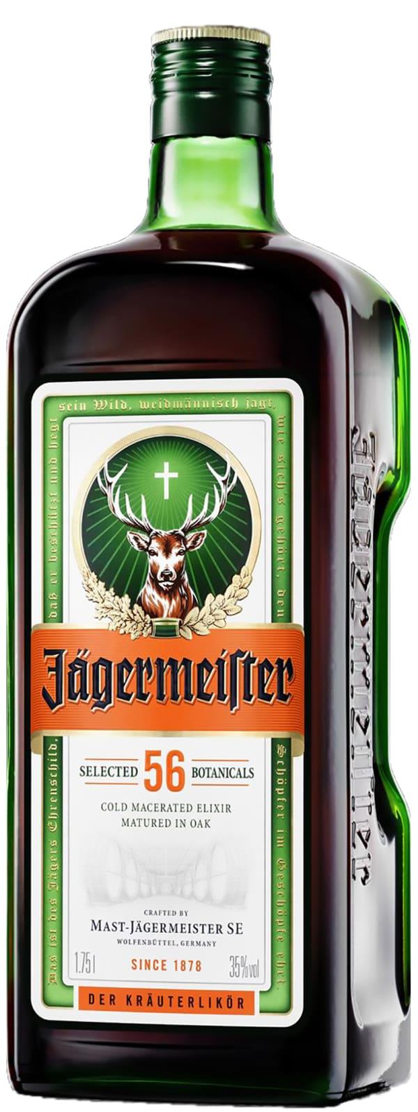 Jägermeister (1.75 l) - yrttiliköörit - Saksa - 131158 - Viinikartta.fi