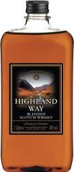 [kuva: The Highland Way muovipullo]