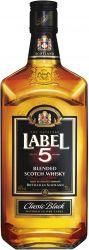 [kuva: Label 5 Blended Scotch Whisky]