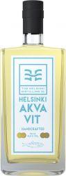 [kuva: Helsinki Distilling Company Helsingfors Fiskehamns Akvavit]