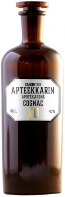 [kuva: Emeritus Apteekkarin Cognac XO(© Alko)]