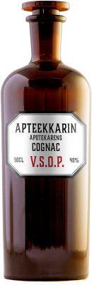 [kuva: Apteekkarin Cognac VSOP(© Alko)]
