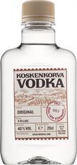 [kuva: Koskenkorva Vodka 40 % muovipullo(© Alko)]