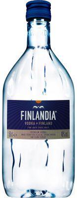 [kuva: Finlandia Vodka muovipullo(© Alko)]
